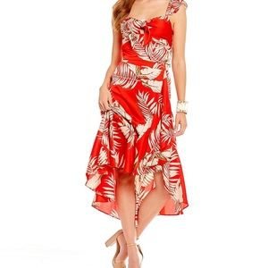 Lucy Paris two piece palm print- new with tags